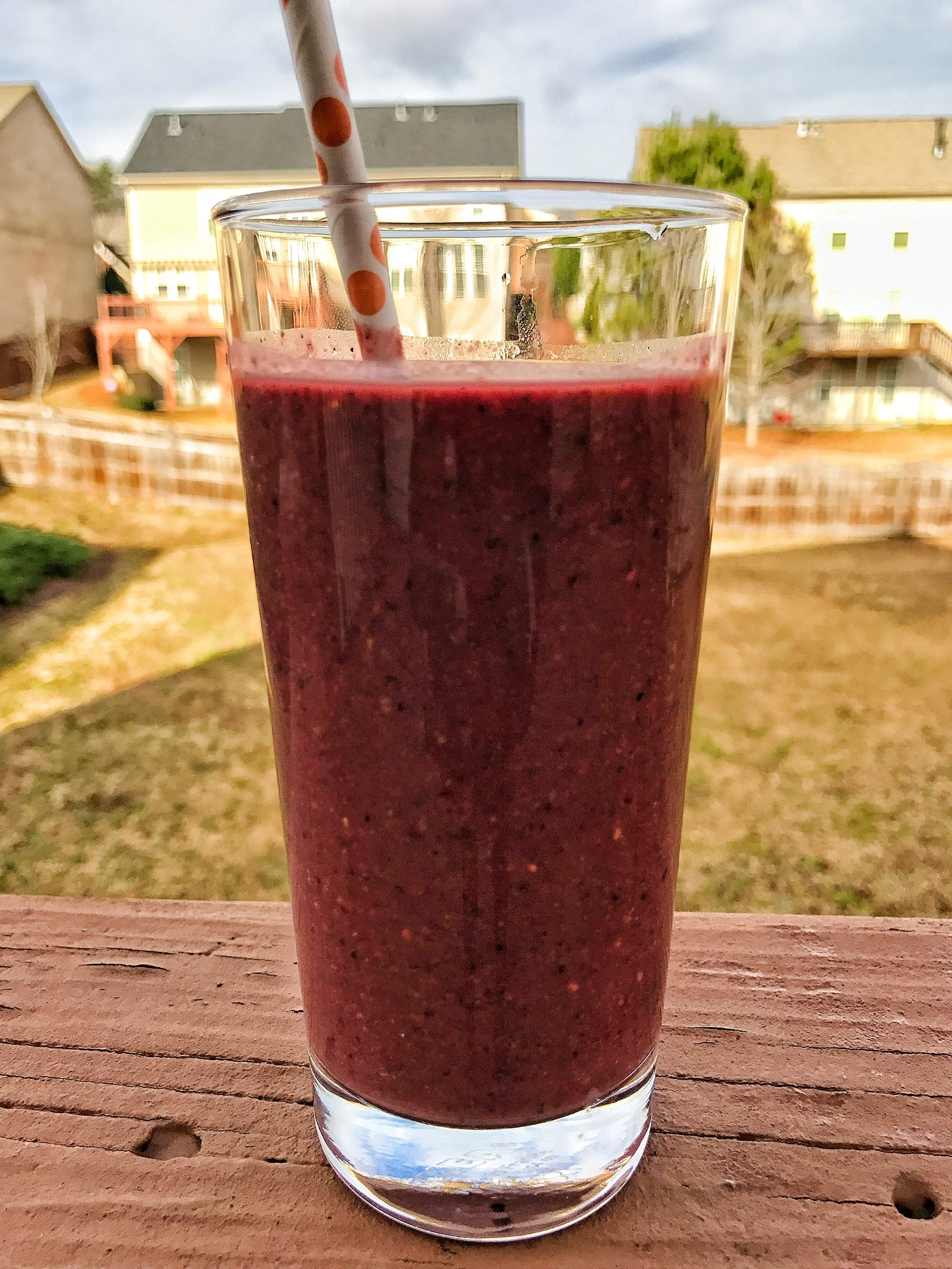 14 Ingredient Morning Smoothie Meal Replacement