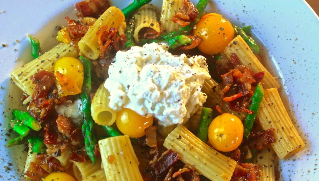 Roasted Veggie Rigatoni