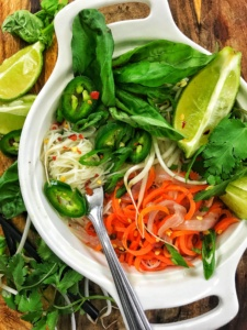 Vegan Spicy Ginger Pho