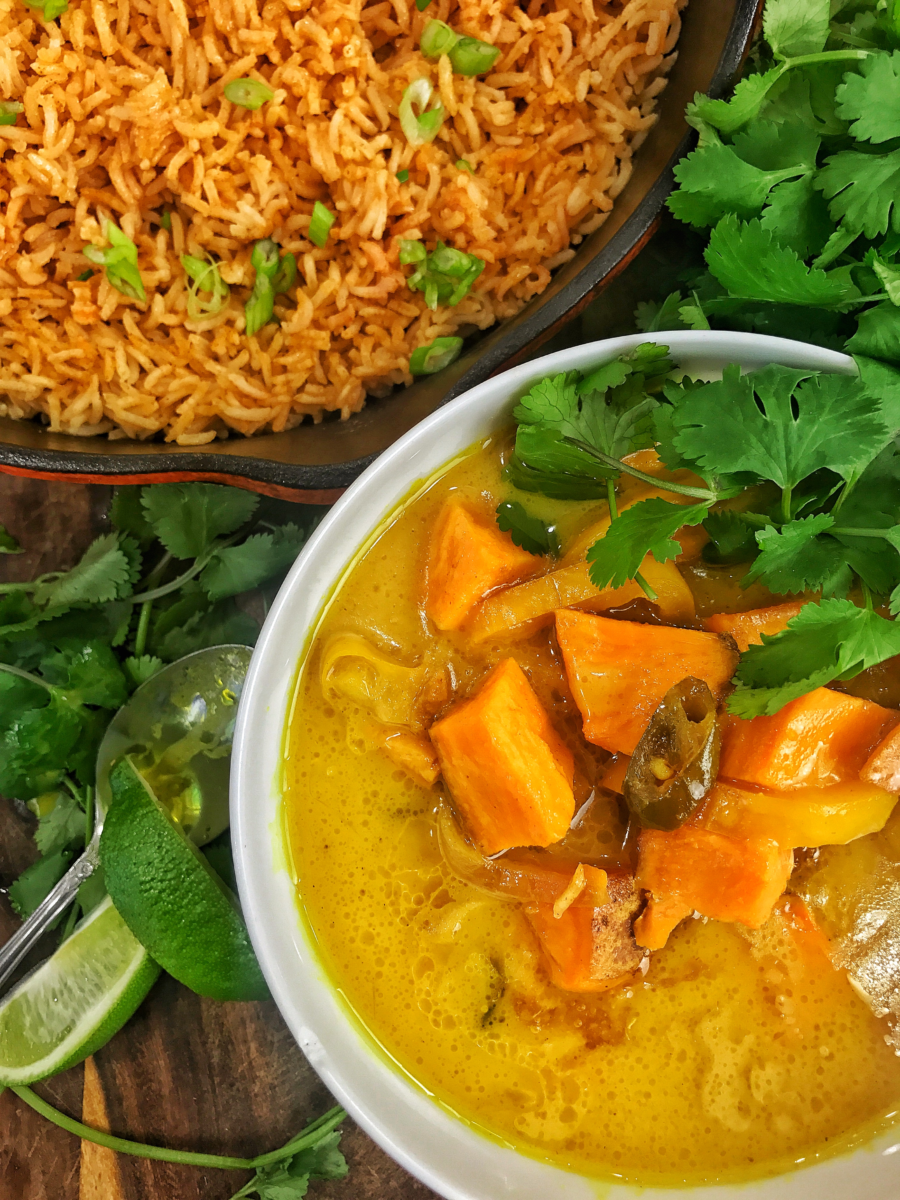 Sweet Potato Massaman Curry & Smoked Paprika Rice