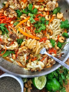 Vegan Cauliflower Pad Thai