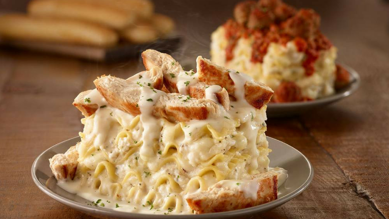 Olive Garden is Bringing Us Customizable Lasagna! | DariusCooks.TV