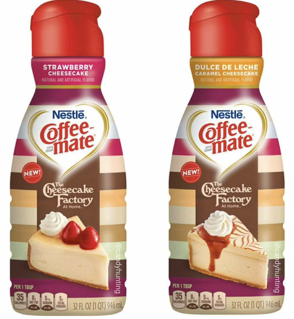Cheesecake Factory's Coffee Creamer In Stores