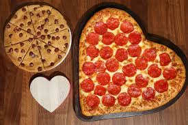 Pizza Hut Heart-Shaped Pizza