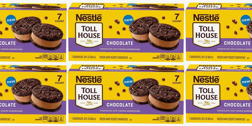 Nestle Toll House Cookie Sandwiches