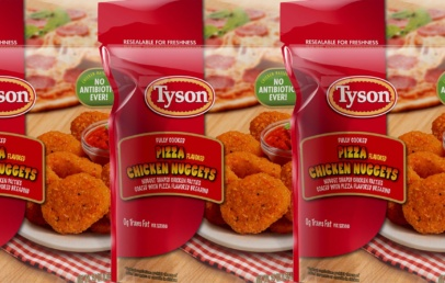 Tyson Pizza Chicken Nuggets