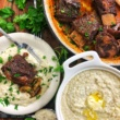 Keto Garlic Braised Short Ribs & White Cheddar Grits