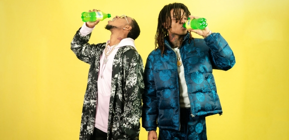 Rae Sremmurd with Sprite Lymonade