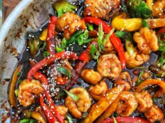 Brown Sugar Asian Shrimp