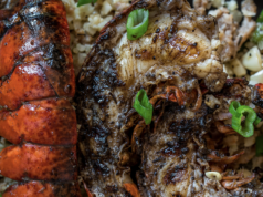 Keto Jerk Lobster & Dirty Rice