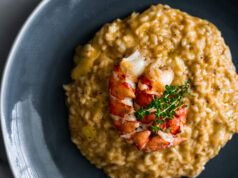 Creamy Lobster Risotto