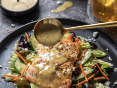 Salmon Salad With French 75 Vinaigrette